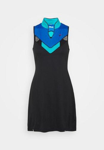 DRESS AMELIE - Sports dress - black