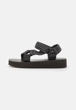YLVA - Platform sandals - black