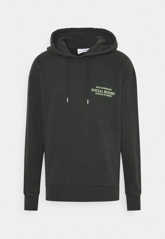 ARTWORK HOODIE - Sweater - faded black