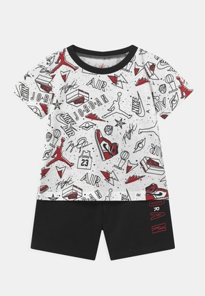 FUN FLIGHT SET UNISEX - Print T-shirt - black