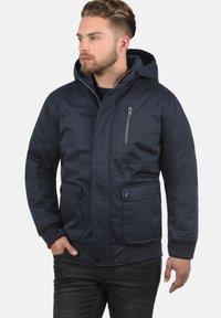 Solid - WALLACE - Light jacket - dark blue - 0