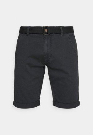 KAISER CHINO EXCLUSIV - Shorts - black