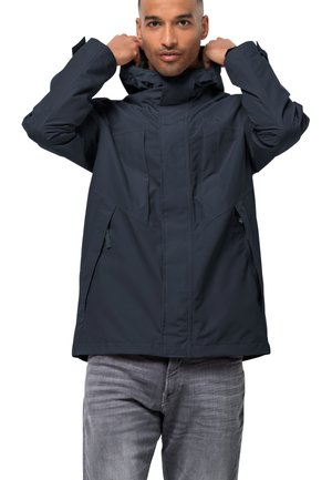 BALDOCK - Waterproof jacket - night blue