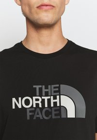 The North Face - EASY TEE - Printtipaita - black - 6