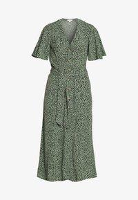 Whistles - ANITA SPOTTED FRILL SLEEVE DRESS - Shirt dress - green/multi - 4