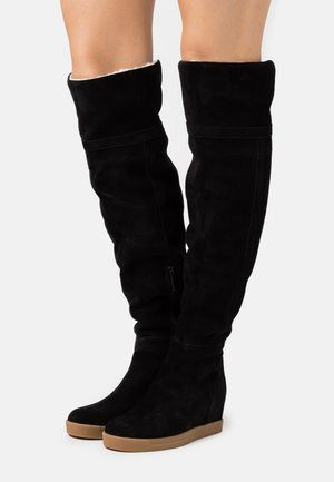 FLORENCIA - Wedge boots - black