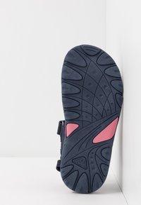 Kappa - SHIPLAKE - Sandales de randonnée - navy/pink - 5