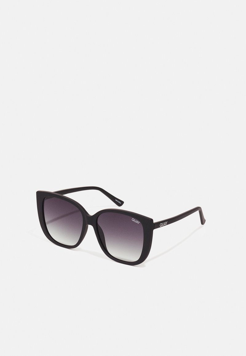 QUAY AUSTRALIA - EVER AFTER - Occhiali da sole - matte black / smoke