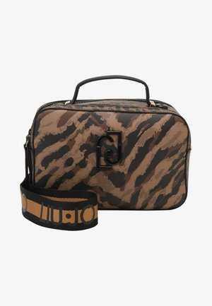 CAMERA CASE ZEBRA - Across body bag - multicoloured