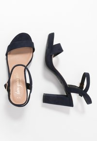 New Look - QUEEN - Sandály na vysokém podpatku - navy - 3