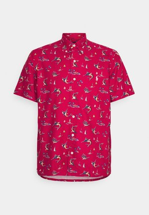 PRINTED OXFORD - Shirt - red