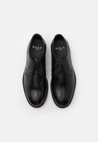 Walk London - JACOB DERBY - Smart lace-ups - swiss black - 3
