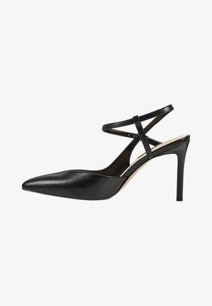 ELISA - High heels - black leather
