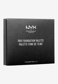 Nyx Professional Makeup - PRO FOUNDATION PALETTE - Palette pour le visage - - - 1