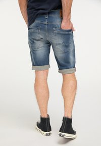 Petrol Industries - Denim shorts - blue - 2