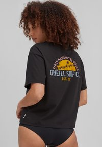 O'Neill - CALIFORNIA SURF - Print T-shirt - black out - 1