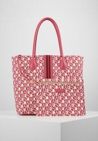 Escada Sport - CANVAS SHOPPER - Shopping bag - red - 4