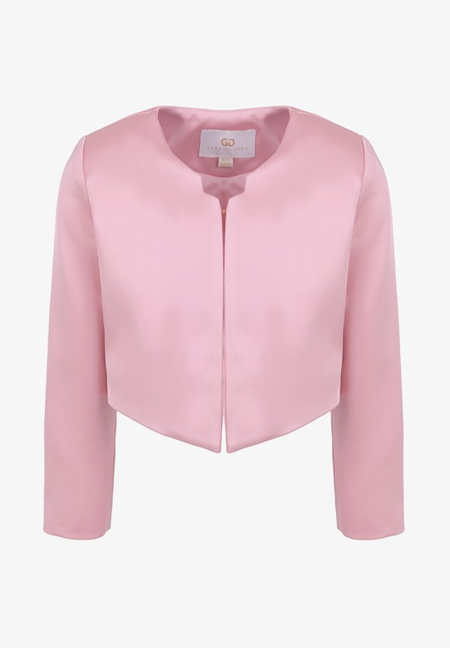 IN SATIN-OPTIK - Blazer - pink