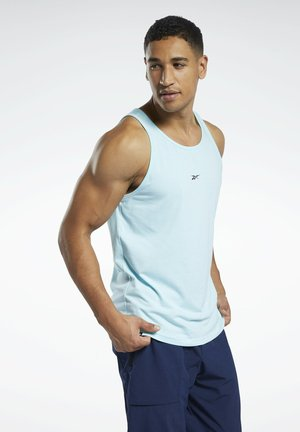 LES MILLS® REGULAR FIT TANK TOP - Top - blue