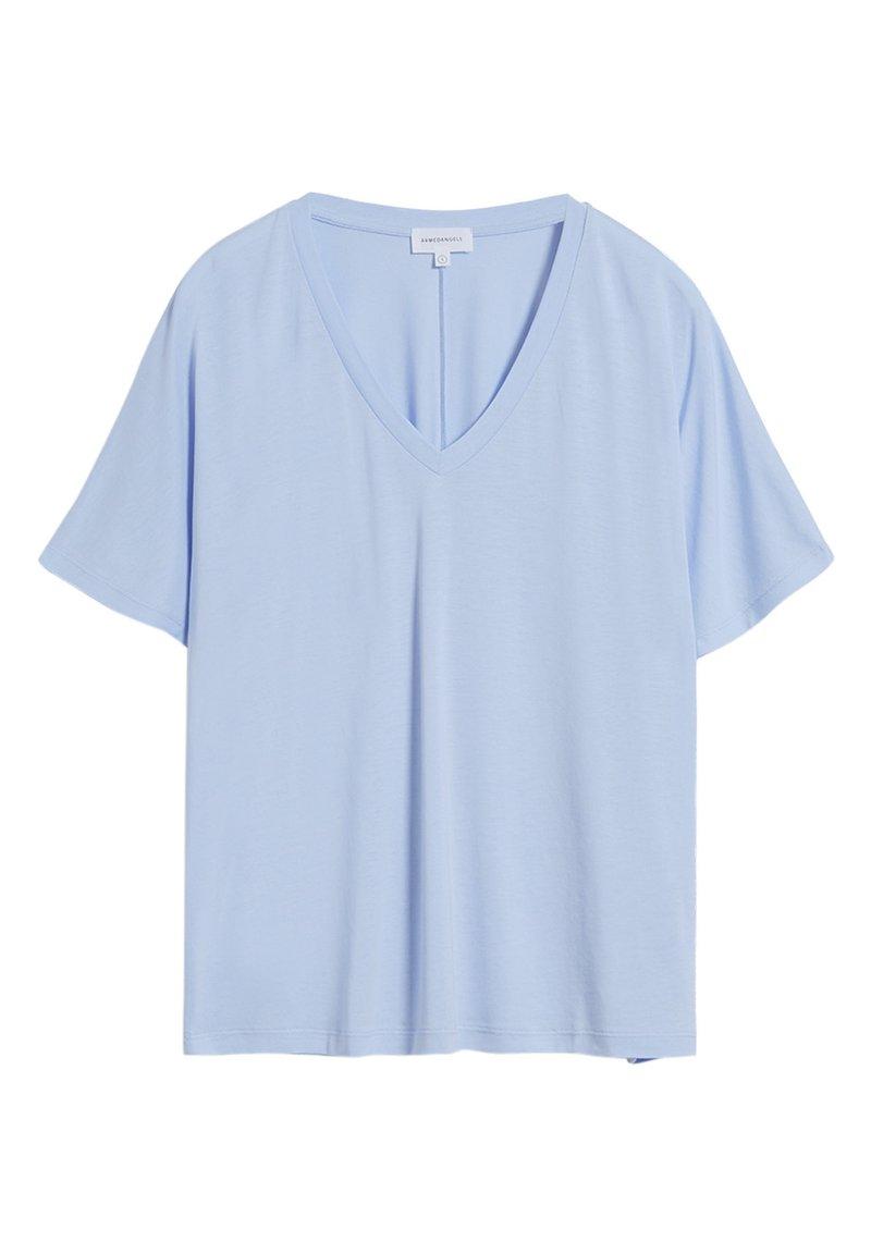 ARMEDANGELS - MIRAA - Basic T-shirt - pure blue