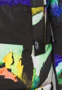 Vintage Supply - ART PRINT PUFFER JACKET - Winter jacket - blue - 5