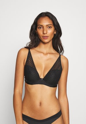 AURA SPOTLIGHT - Triangel BH - black