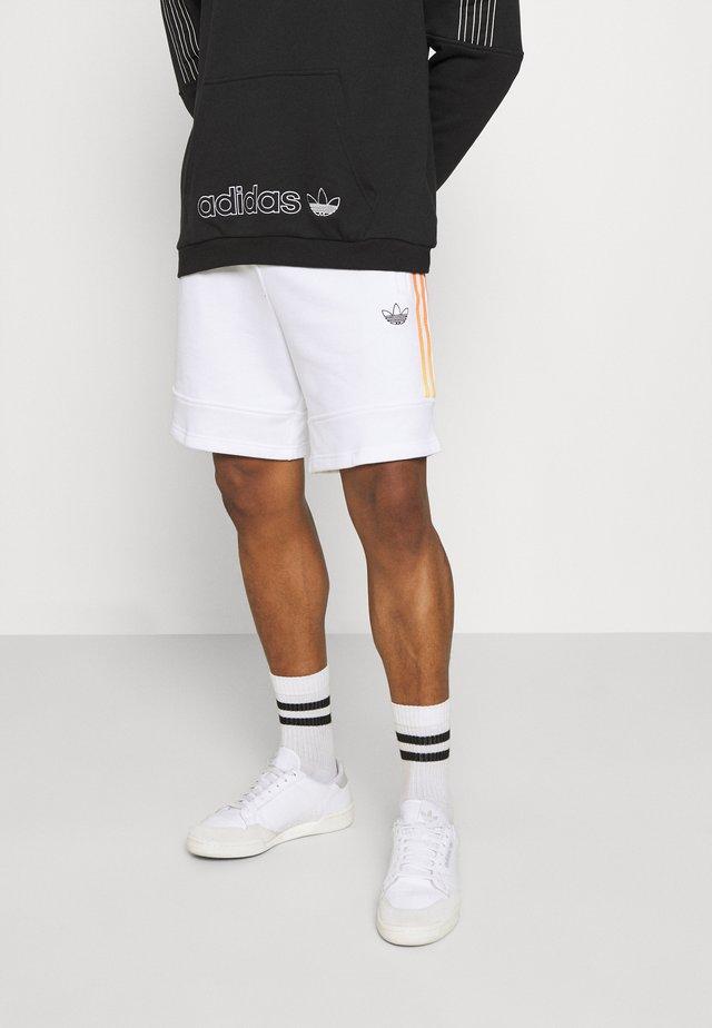 Shorts - white/multicolor