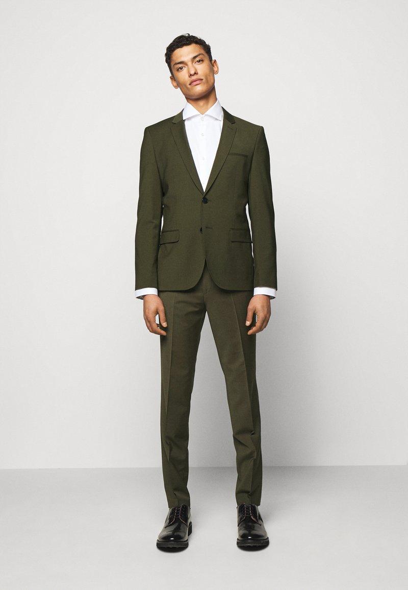 HUGO - ARTI HESTEN - Suit - dark green