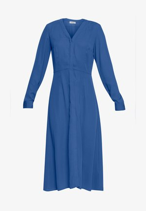SALLIE DRESS - Vestido camisero - blau