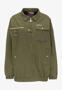 myMo - Light jacket - militär grün - 4