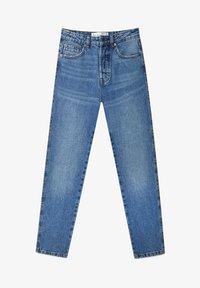 Stradivarius - Straight leg jeans - dark blue - 4