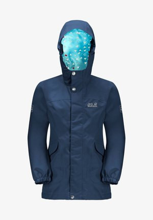 Outdoor jacket - dark indigo