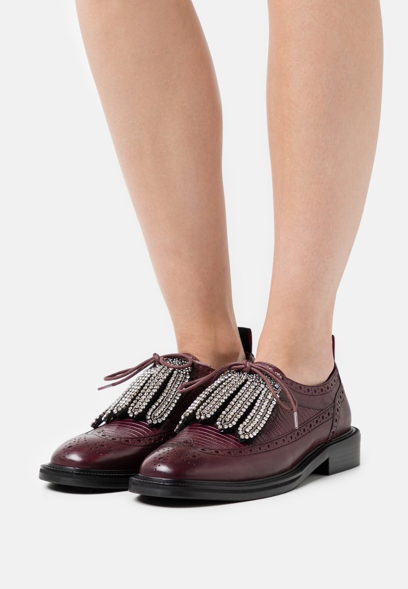 MAX&Co. - MUSICA - Lace-ups - burgundy