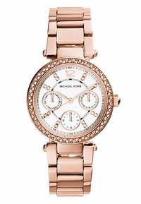 Michael Kors - PARKER - Chronograph watch - rosegold-coloured - 0