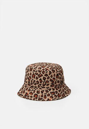 LEOPARD BUCKET KIDS - Klobouk - light brown