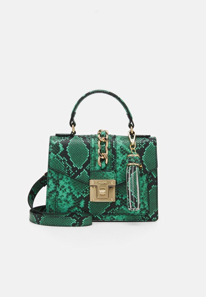 ALDO - SNAKE - Handbag - green