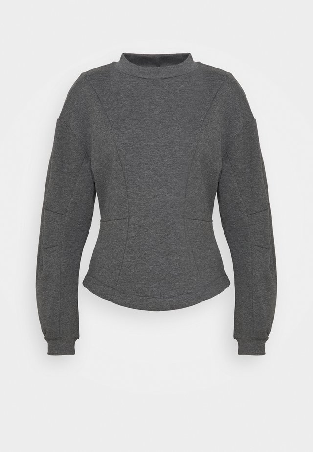 ONLSTELLA - Sweatshirt - dark grey melange