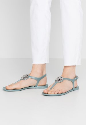 JAXX - T-bar sandals - turquoise