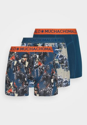 MONGOLIAN 3 PACK - Boxerky - dark blue
