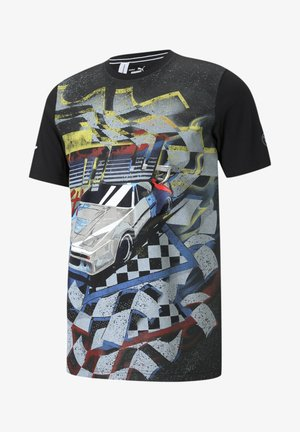 BMW M MOTORSPORT STREET VINTAGE - Print T-shirt - puma black