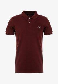 American Eagle - SLIM FIT FLEX - Poloshirt - burgundy - 3