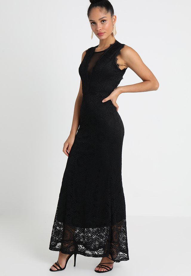 SLEEVLESS MAXI - Robe de cocktail - black