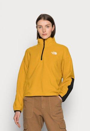 KATAKA - Fleecová mikina - arrowwood yellow