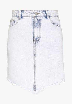 VIANNABEL SHORT SKIRT - Jeansnederdel/ cowboy nederdele - light blue denim