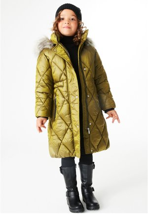 Winter coat - light green