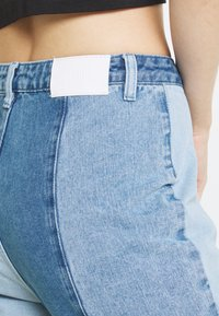 Missguided - PATCHWORK - Jeans straight leg - blue - 4