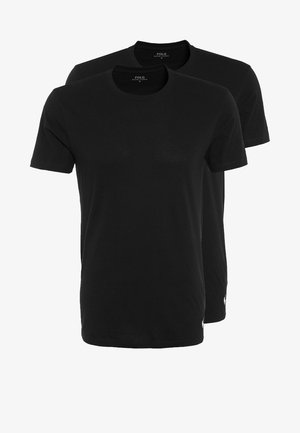 2 PACK - Undershirt - polo black
