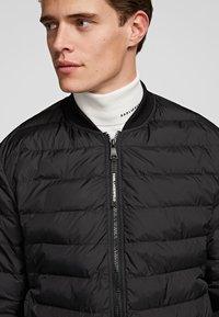 KARL LAGERFELD - Winter jacket - black - 4
