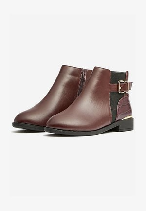 WIDE FIT MILA - Classic ankle boots - brown