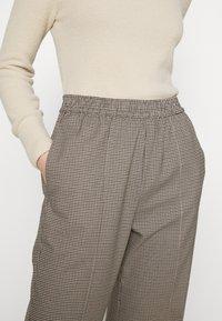 Envii - ENLAFAYETTE PANTS - Trousers - brown - 6